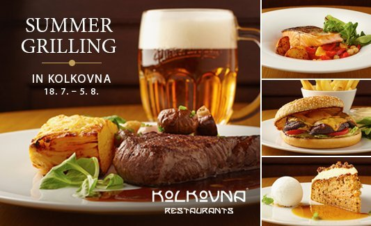 Summer grilling at Kolkovna Restaurants