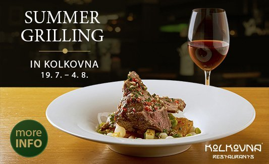 Summer grilling in Kolkovna Restaurants 2019