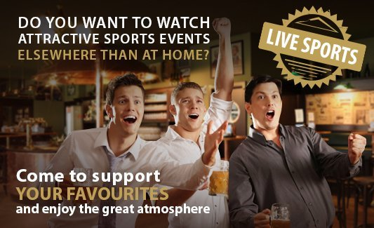 Live sports events in Kolkovna